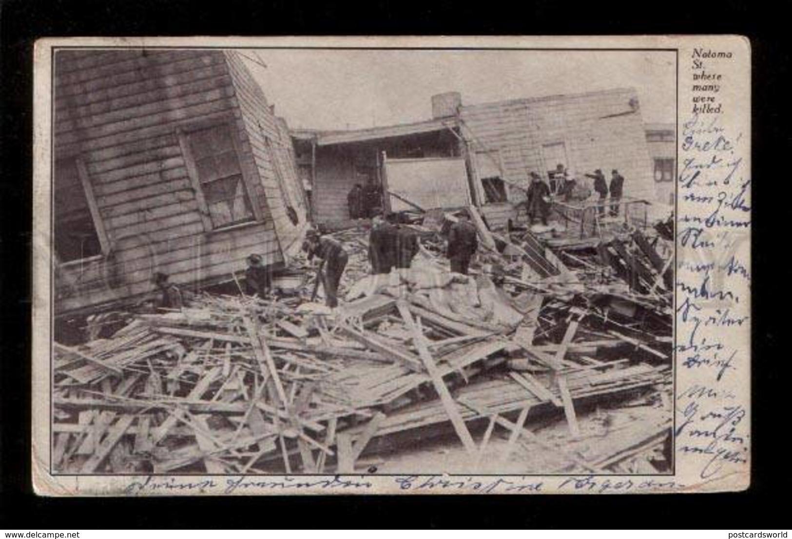 061253 San Francisco Earthquake Notoma Street Old PC - San Francisco