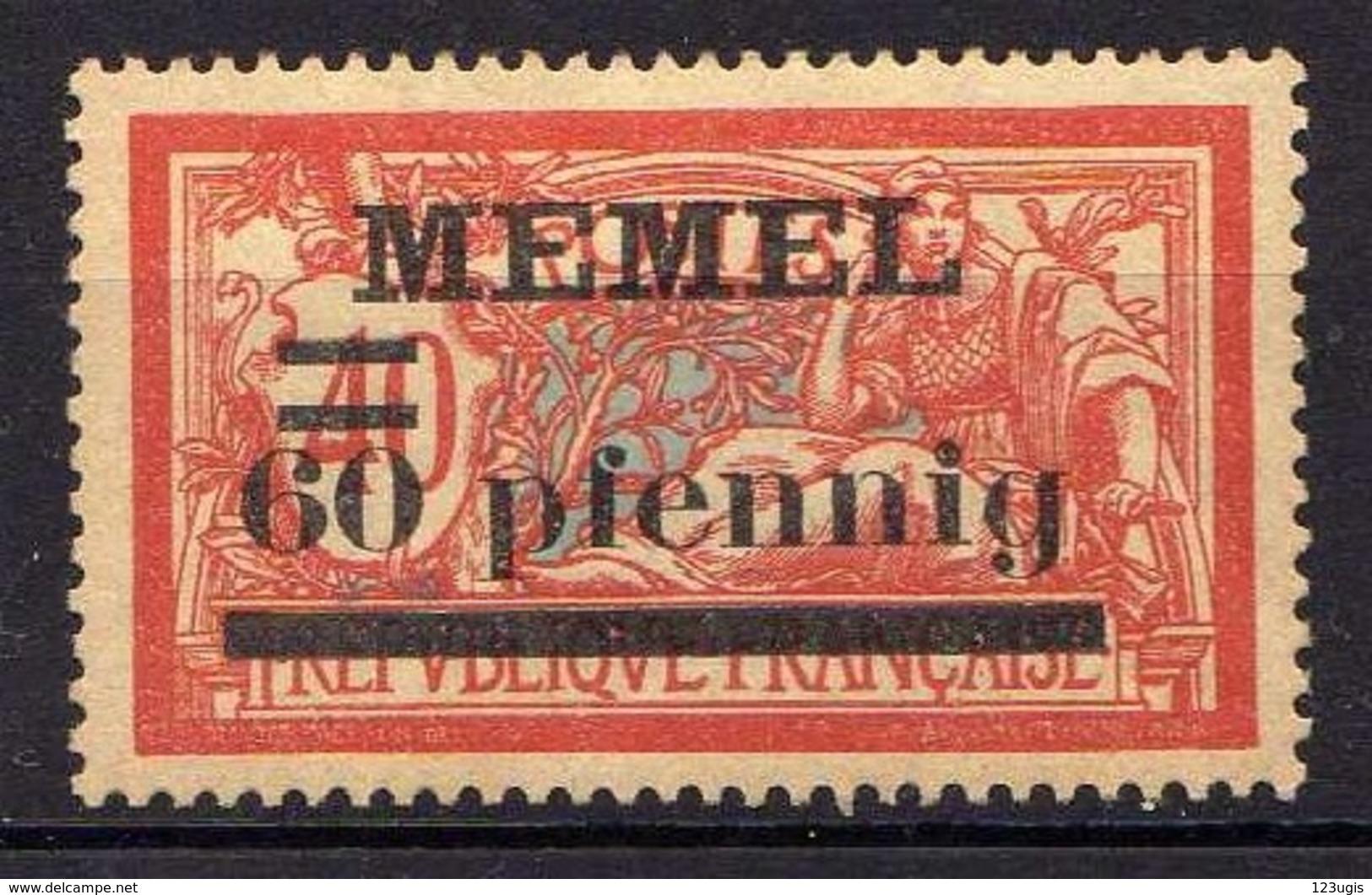 Memel 1920 Mi 24 X * [120119XXII] - Memelgebiet