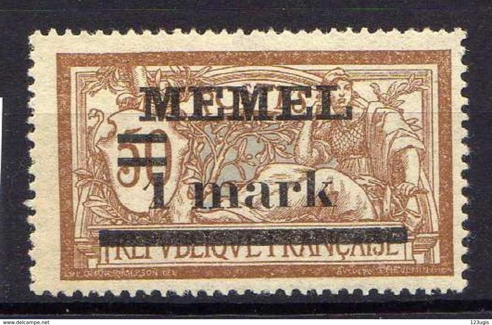Memel 1920 Mi 26 Y  ** [120119XXII] - Memelgebiet