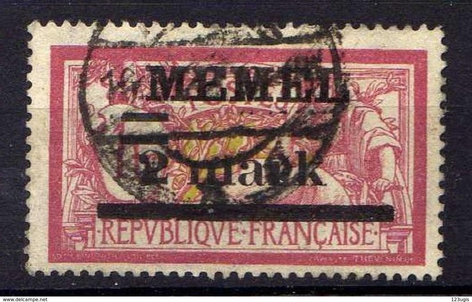 Memel 1920 Mi 28 Y, Gestempelt [280117L] - Memelgebiet