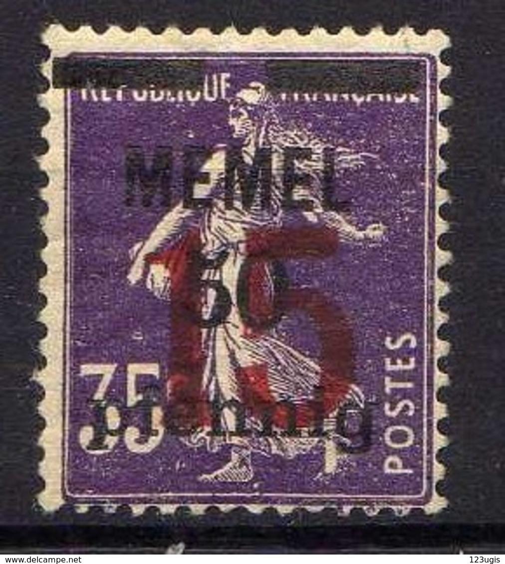 Memel (Klaipeda) 1920 Mi Mi 48 * [120119XXII] - Memelgebiet