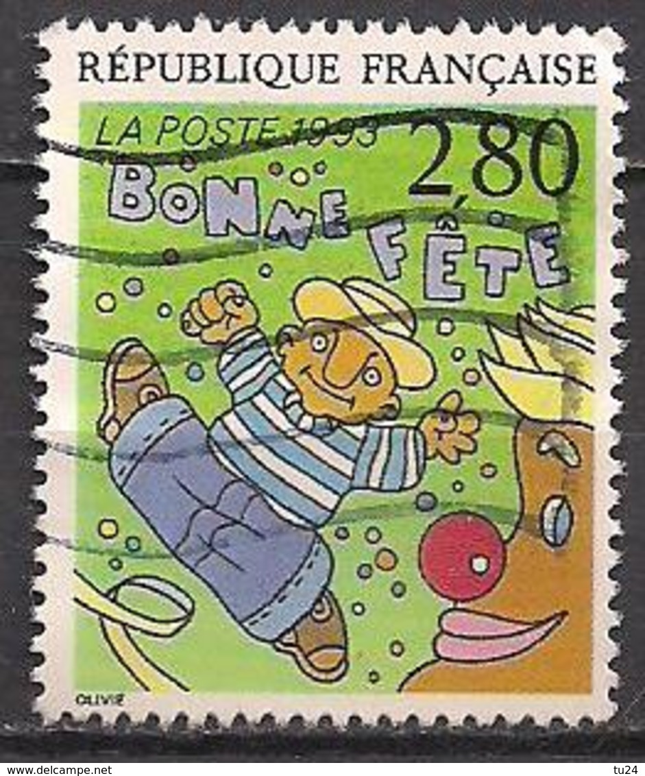 Frankreich  (1993)  Mi.Nr.  2983 A  Gest. / Used  (8ae59) - Frankreich