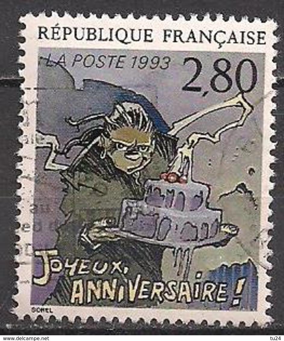 Frankreich  (1993)  Mi.Nr.  2985 A  Gest. / Used  (8ae60) - Frankreich
