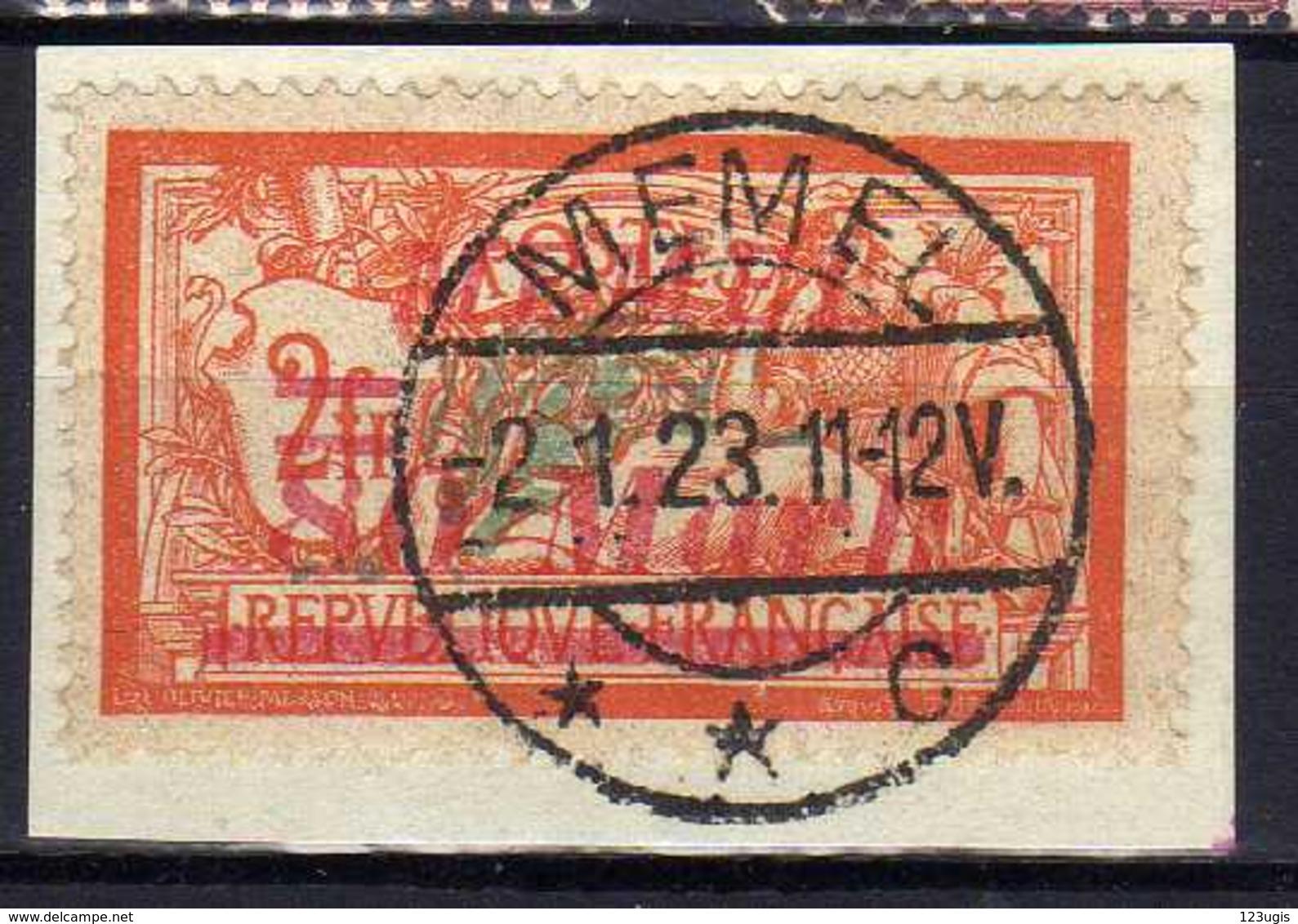 Memel 1922 Mi 117, Gestempelt [120119XXII] - Memelgebiet