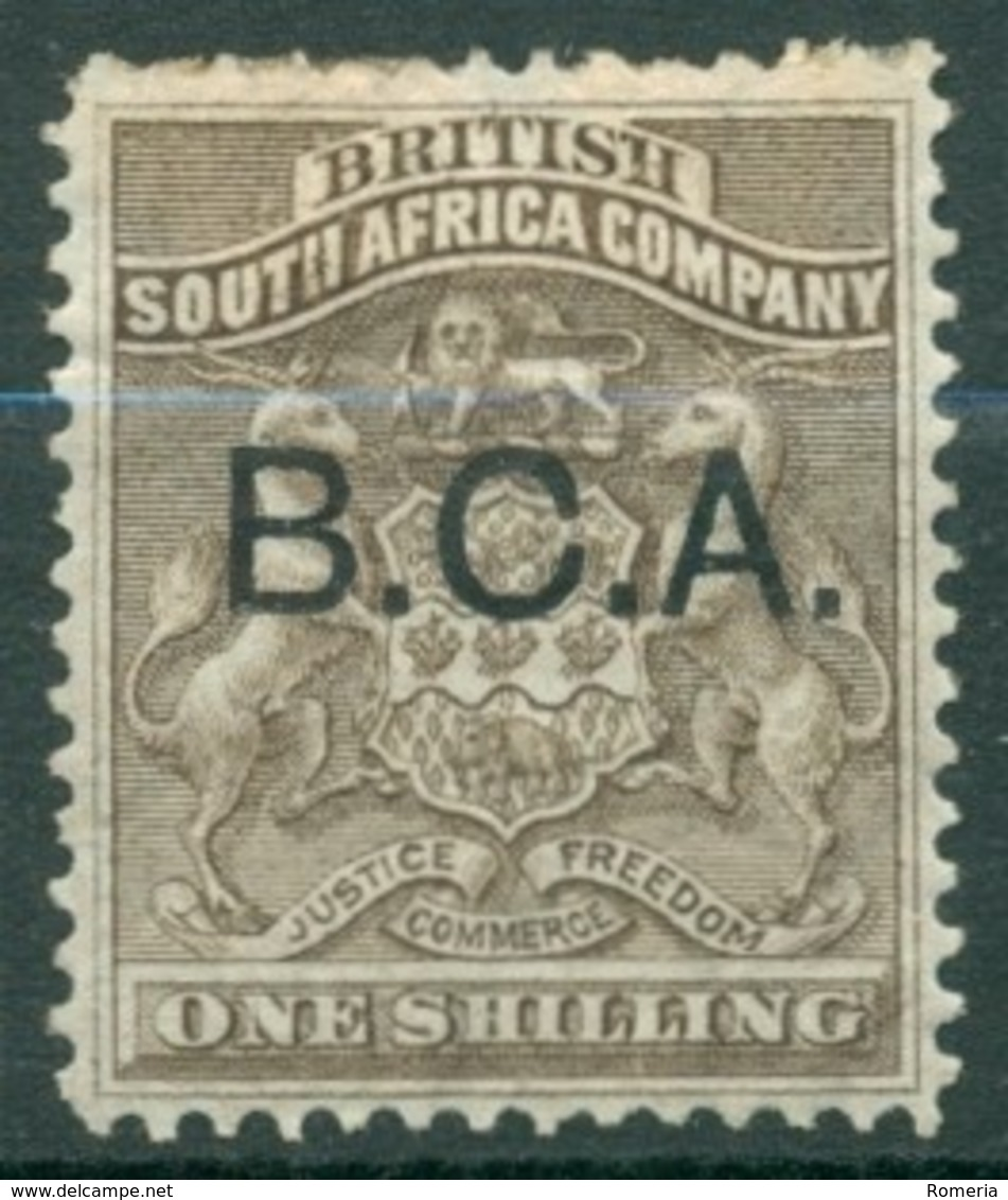 British South Africa Company - 1890/1891 - Yt 3 - Série Courante Surchargé B.C.A. - Oblitéré - Géorgie