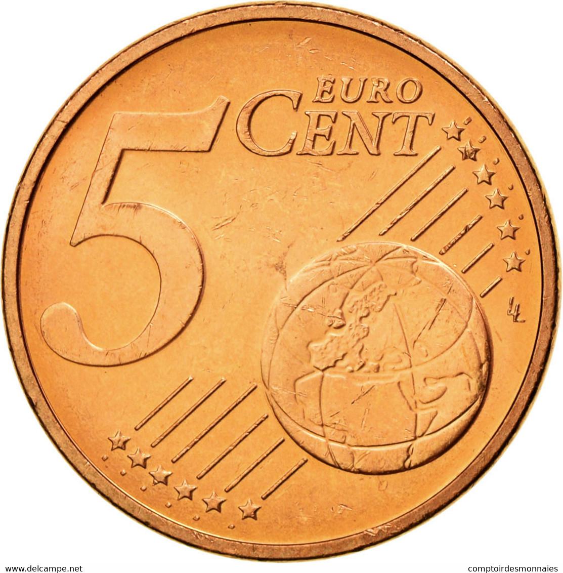 Autriche, 5 Euro Cent, 2002, SUP, Copper Plated Steel, KM:3084 - Autriche