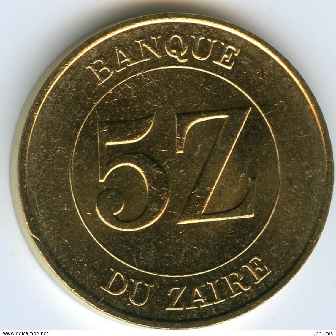 Zaire 5 Zaires 1987 KM 14 - Zaire (1971-97)