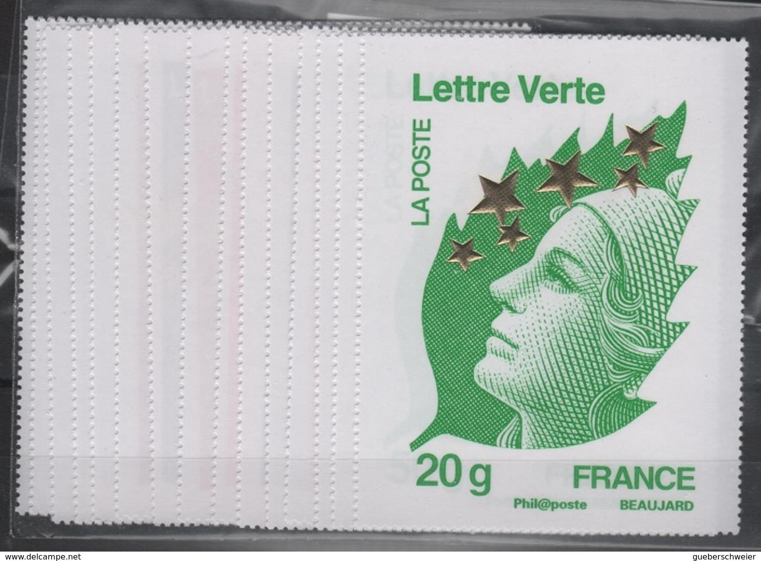 FR MAR 8 - Marianne De Beaujard N° 4662A/4662Q Neufs** MAXI MARIANNES - 2008-13 Maríanne De Beaujard