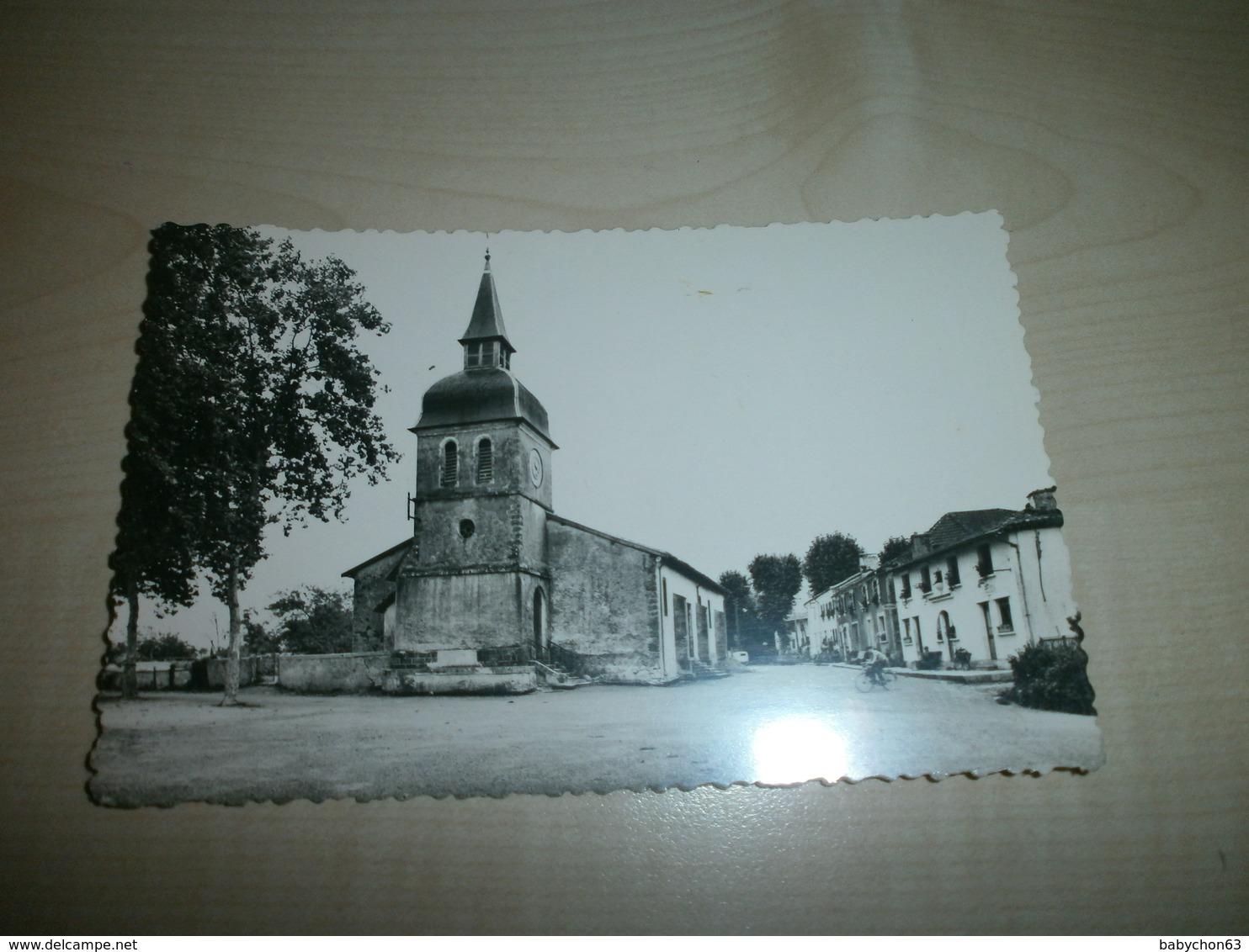 Carte Ancienne MEILHAN Place De L'église - France