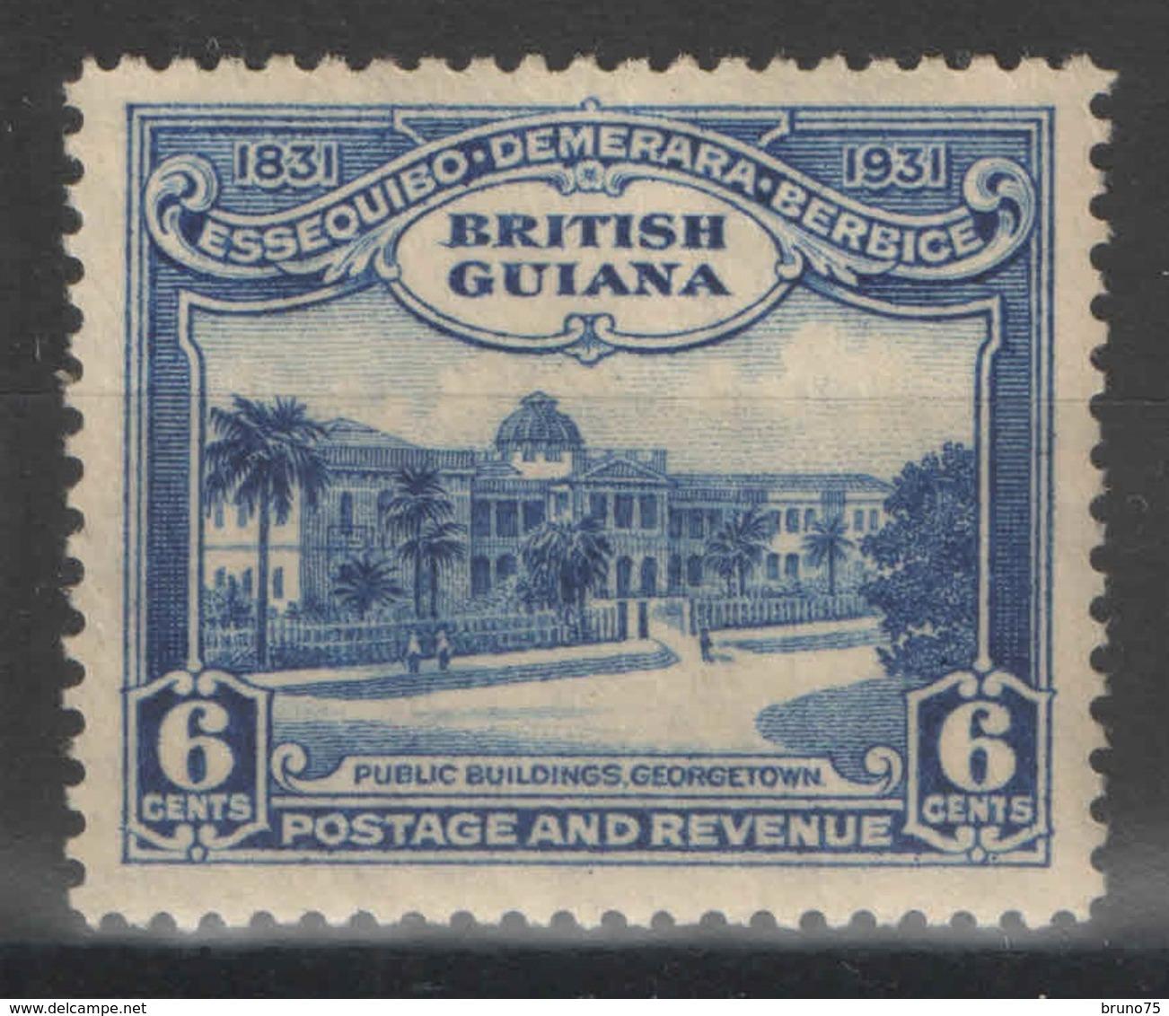 Guyane Britannique - British Guiana - YT 140 * - 1931 - British Guiana (...-1966)