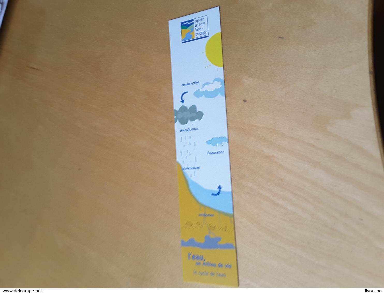 Marque-pages Agence De L'eau De Loire Bretagne - Marque-Pages