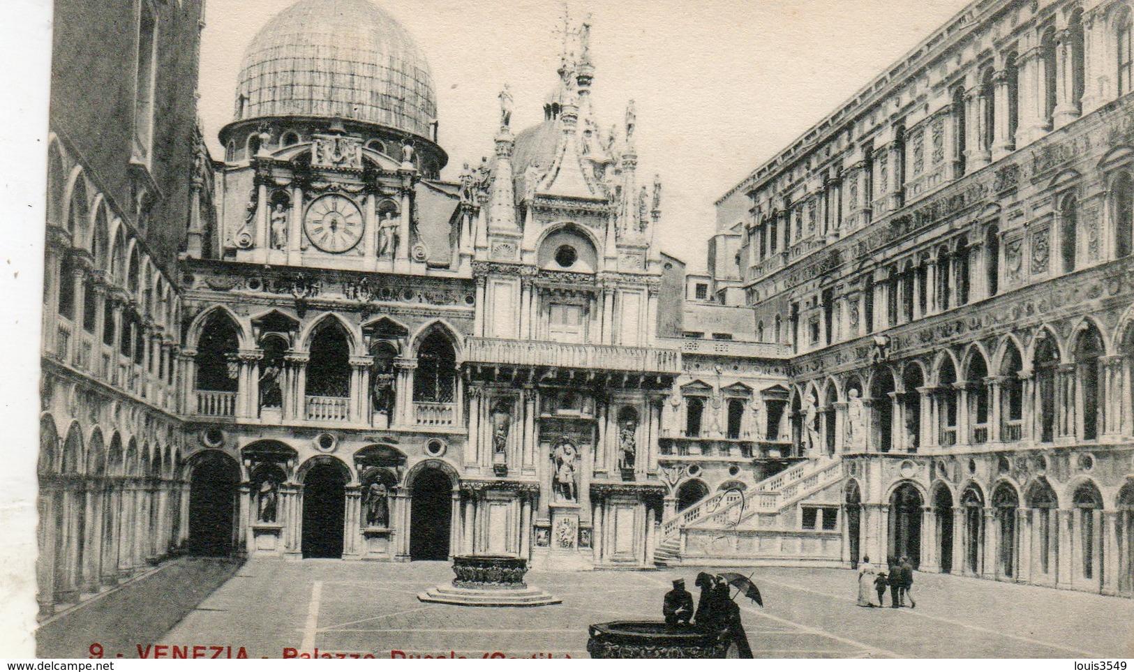 Venezia -  Palazzo  Ducale -  Cortile -. - Venezia (Venice)