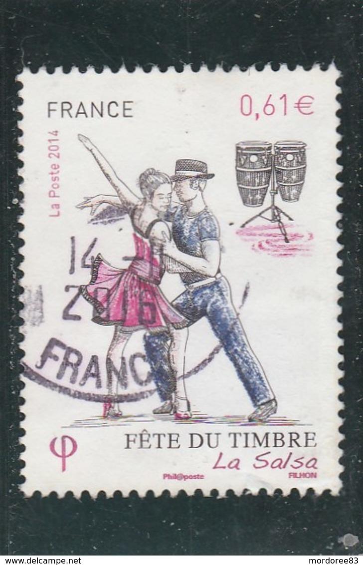 YT 4904 FETE DU TIMBRE LA SALSA 2014 OBLITERE A DATE - France