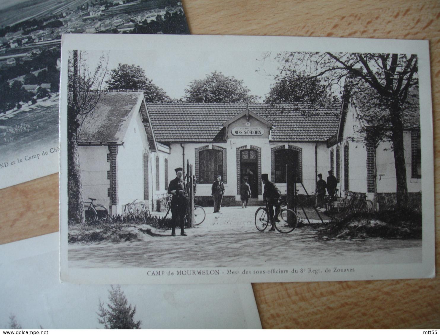 Lot 78 Carte  Camp De Mourmelon - Militaria