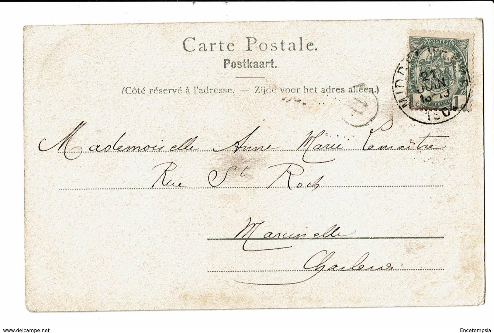 CPA - Carte Postale -Belgique-Les Plaisirs De La Plage -1904 -S4879 - Belgique
