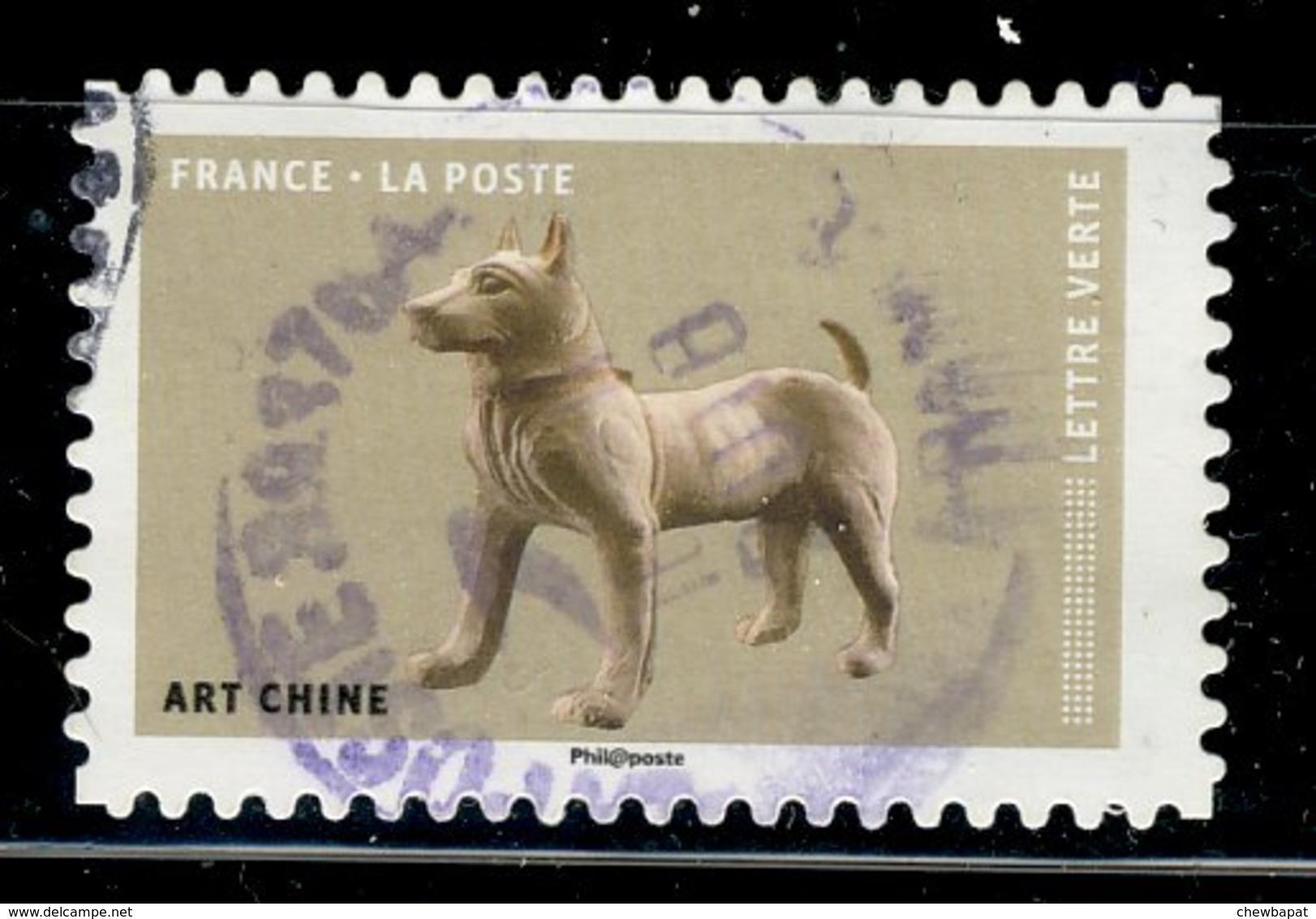 France 2018 - Oblitéré Used - Y&T N° AA 1524 - Art Chine - France