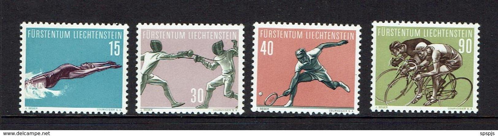 LIECHTENSTEIN...1958...MNH - Liechtenstein