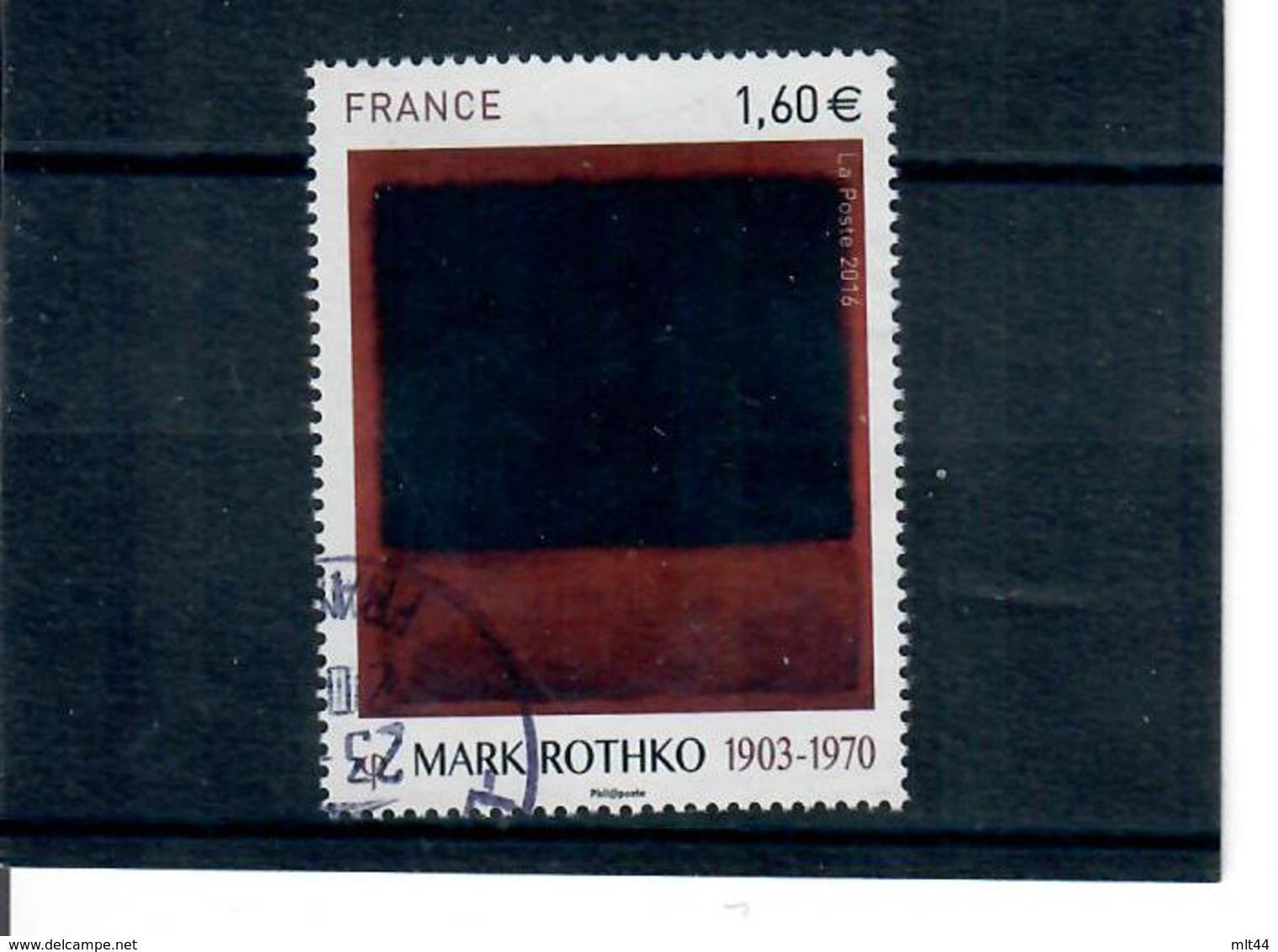 Yt 5030 Serie Artistique Mark Rothko Cachet Rond - France