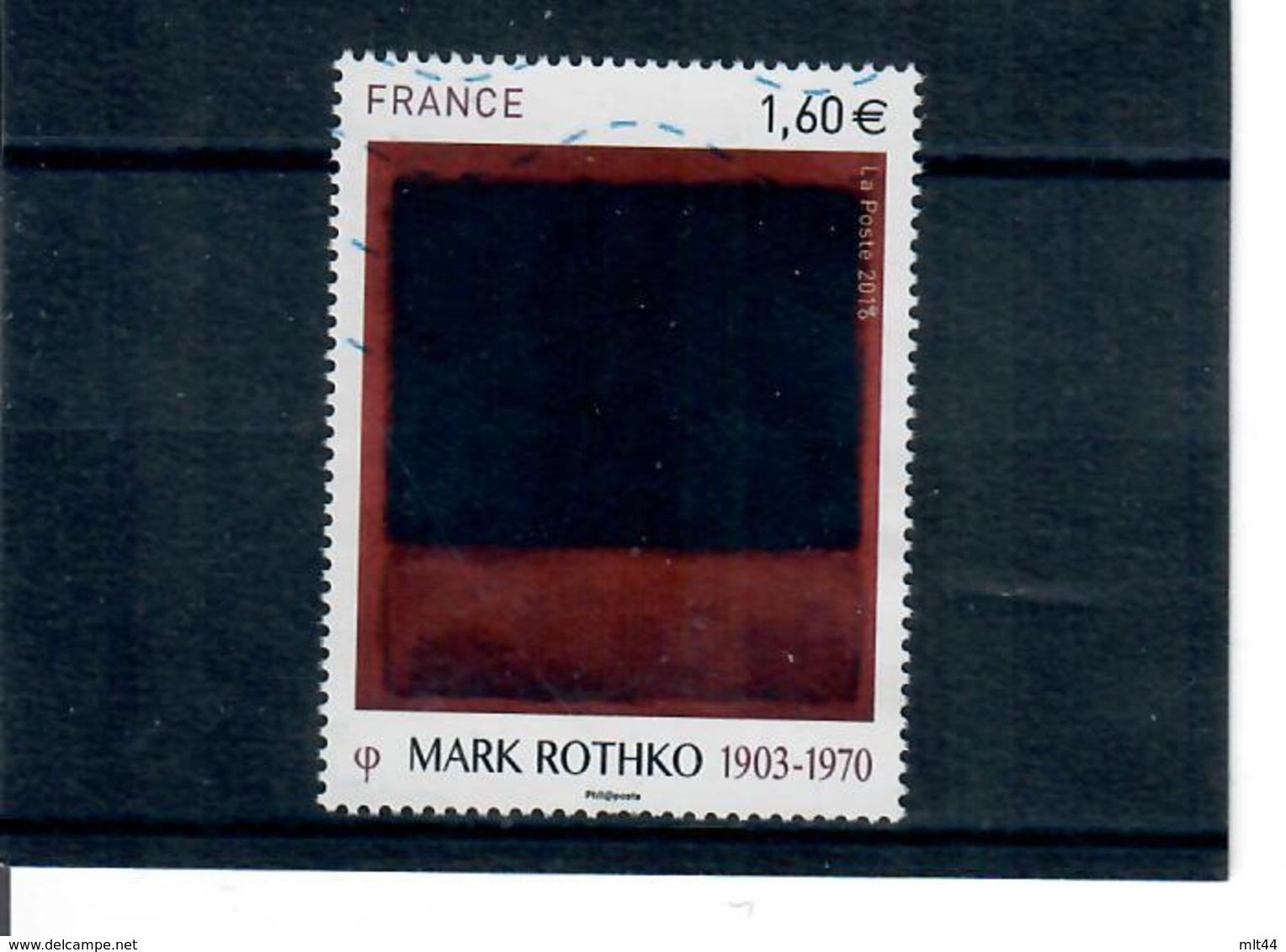 Yt 5030 Serie Artistique Mark Rothko - France