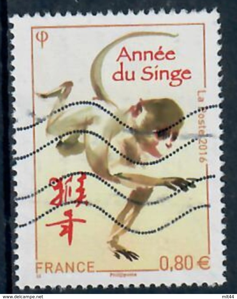 Yt 5031 Annee Lunaire Chinoise Du Singe - France