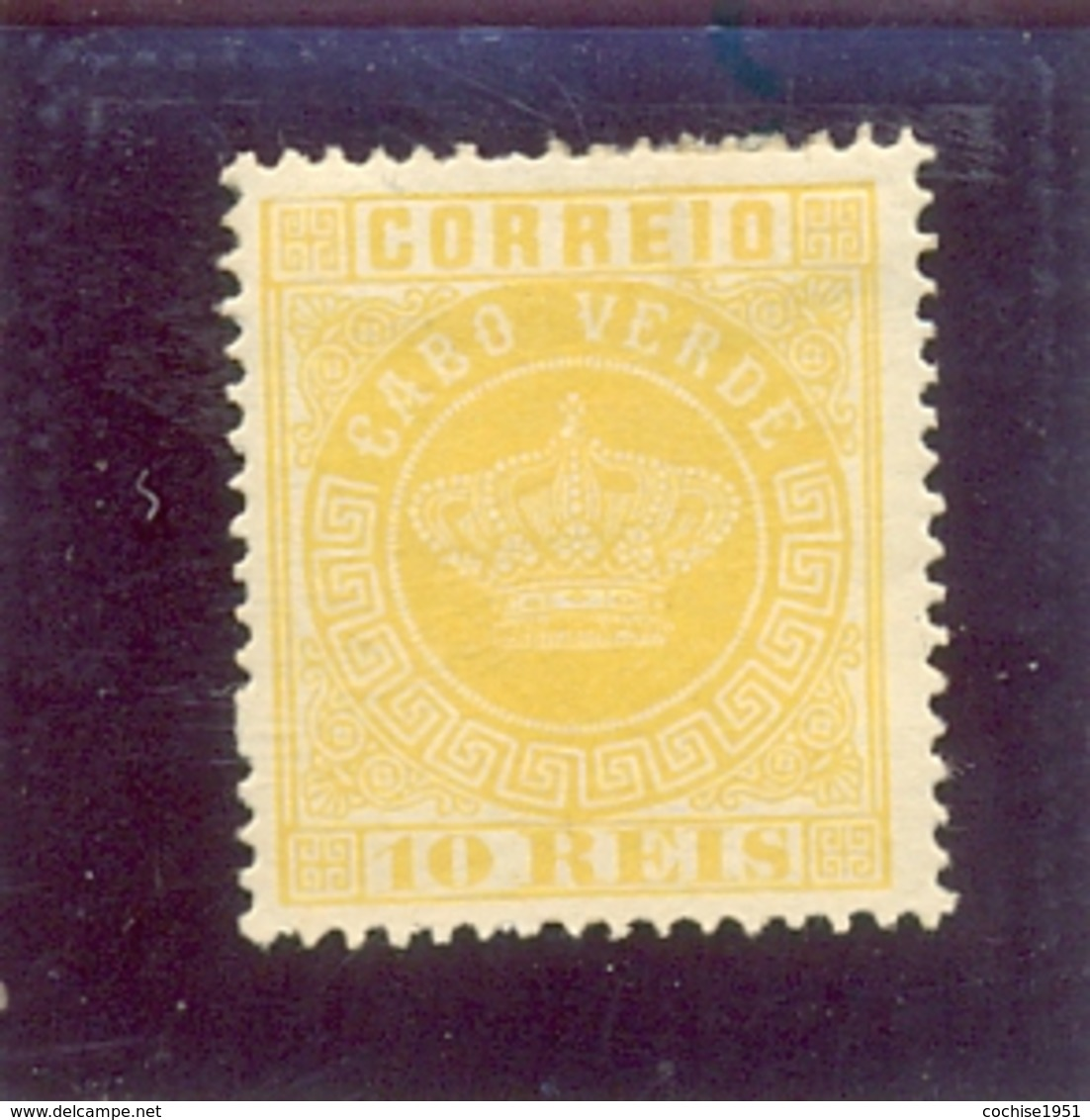 1877 CAP VERT Y & T N° 2 ( * ) - Isola Di Capo Verde