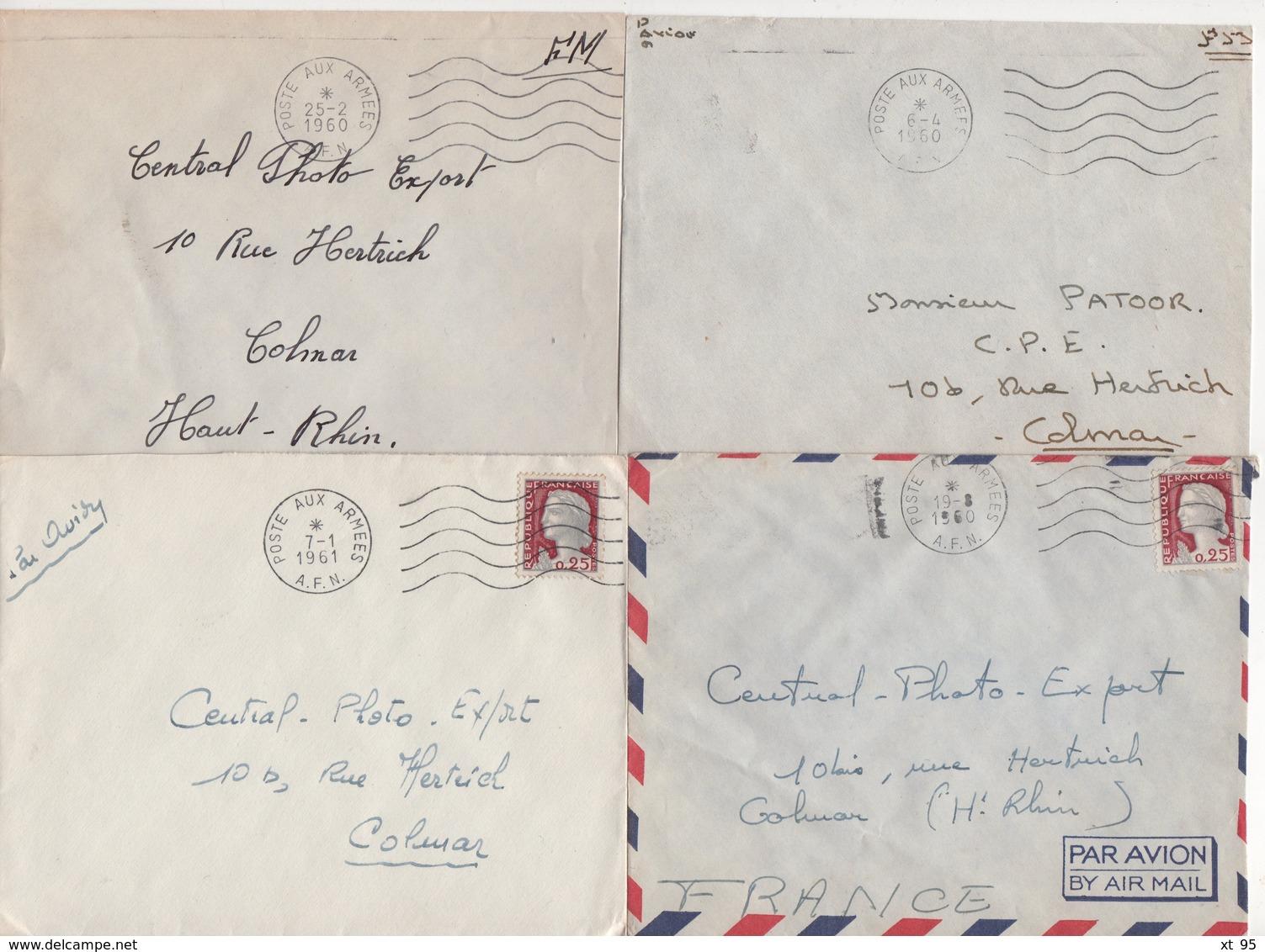Guerre D'Algerie - Poste Aux Armees AFN - Lot De 20 Lettres - Voir Scan - Marcofilie (Brieven)