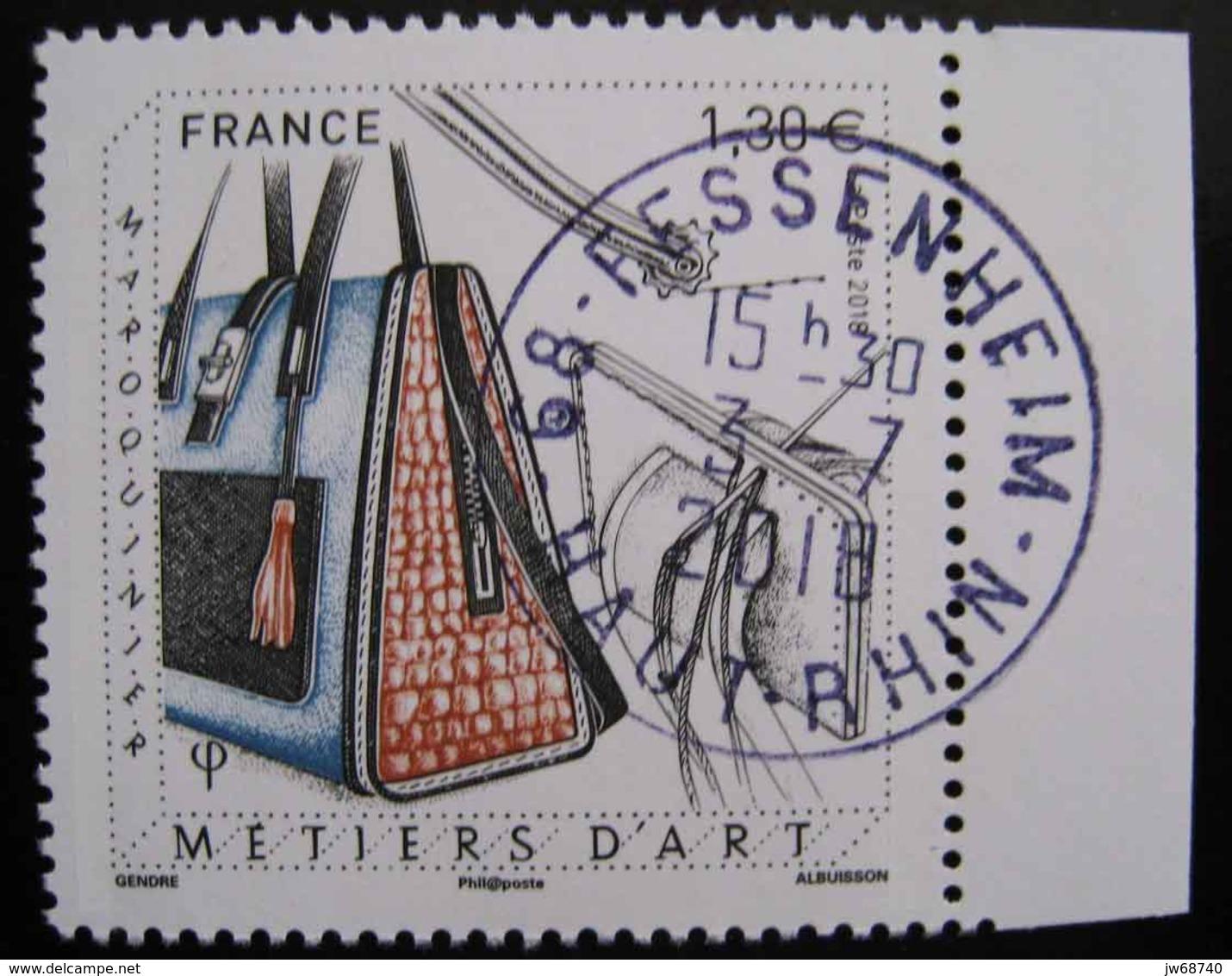 Timbre De France 2018 Maroquinier - Oblitéré - France