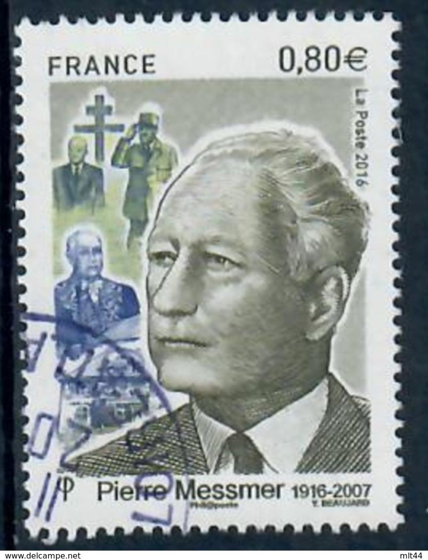 Yt 5035 Pierre Messmer-cachet Rond - France