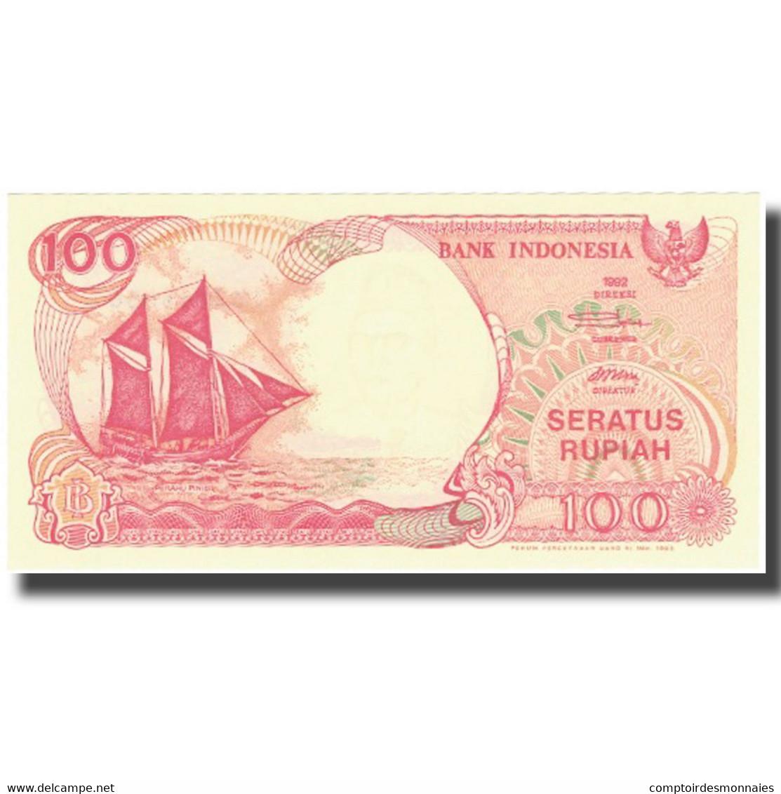 Billet, Indonésie, 100 Rupiah, 1992, 1992, KM:127b, NEUF - Indonésie