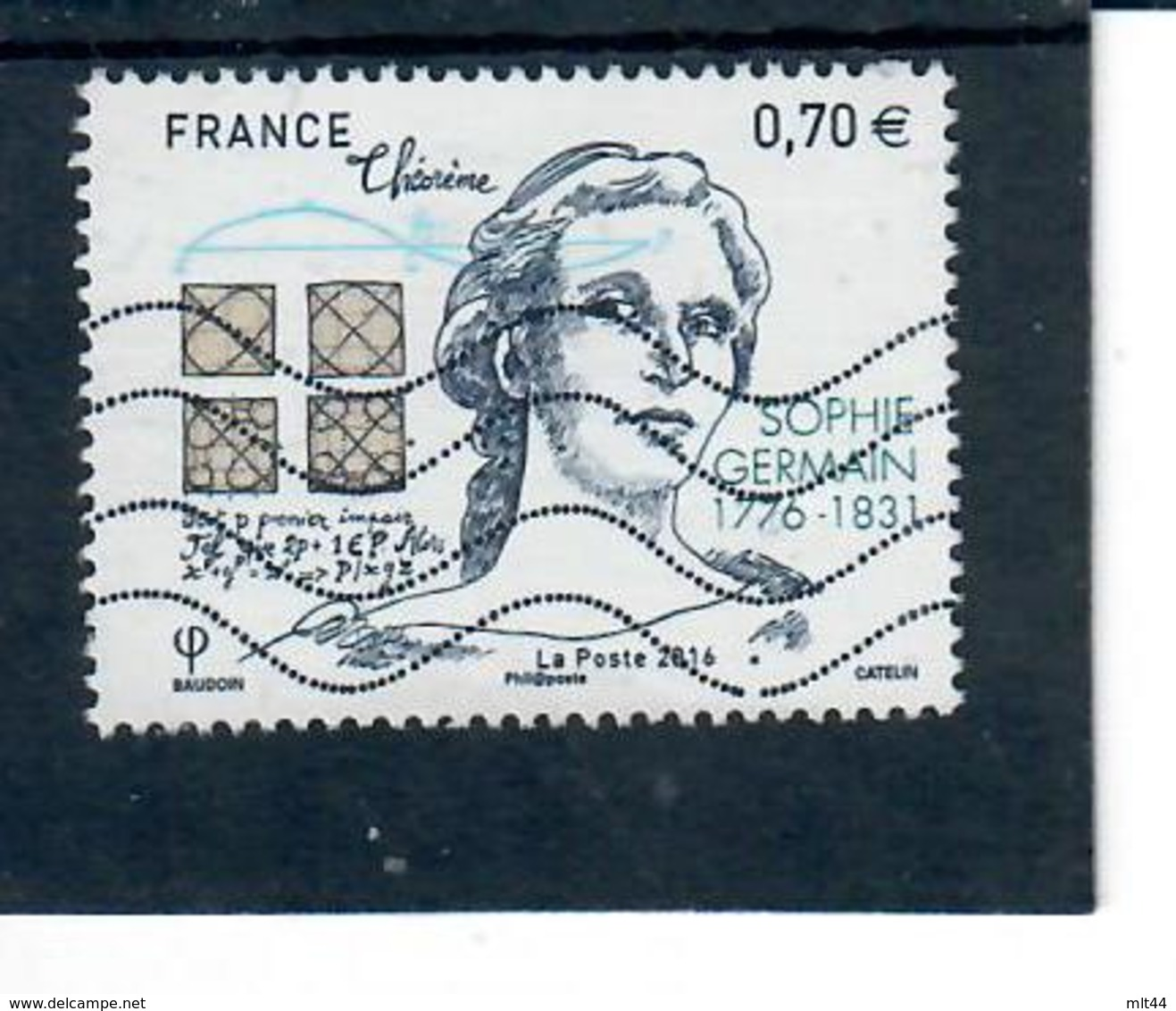 Yt 5036 Sophie Germain - France