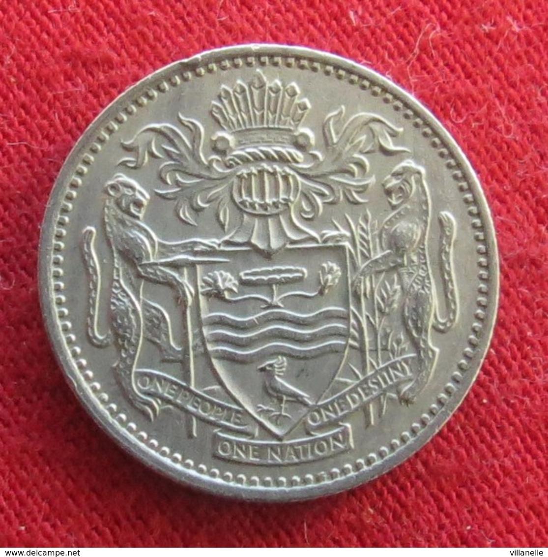 Guyana 10 Cents 1967 KM# 33 *V2 Guiana - Guyana