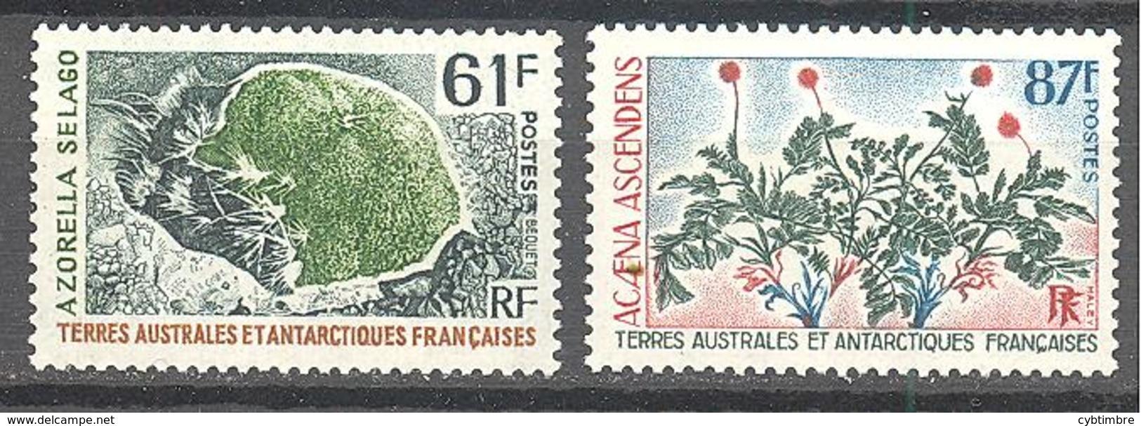 Terres Australes Et Antarctiques Françaises (TAAF) : Yvert N° 52/53**; MNH - Terres Australes Et Antarctiques Françaises (TAAF)