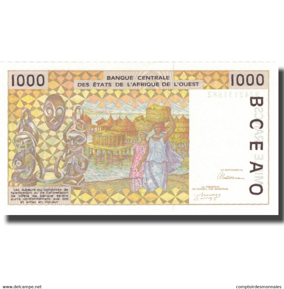Billet, West African States, 1000 Francs, KM:711Kb, NEUF - West-Afrikaanse Staten