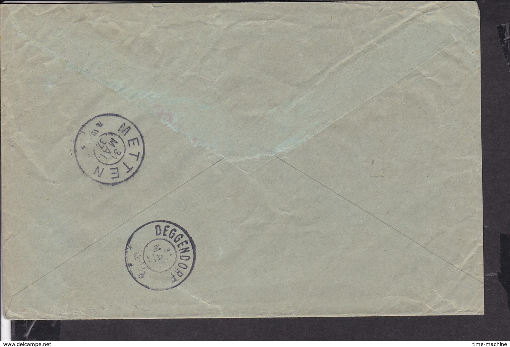Einschreib Brief Deutsches Reich Dienstmarken Stempel Plattling 1937 Nach Metten ..,Deggendorf - Deutschland