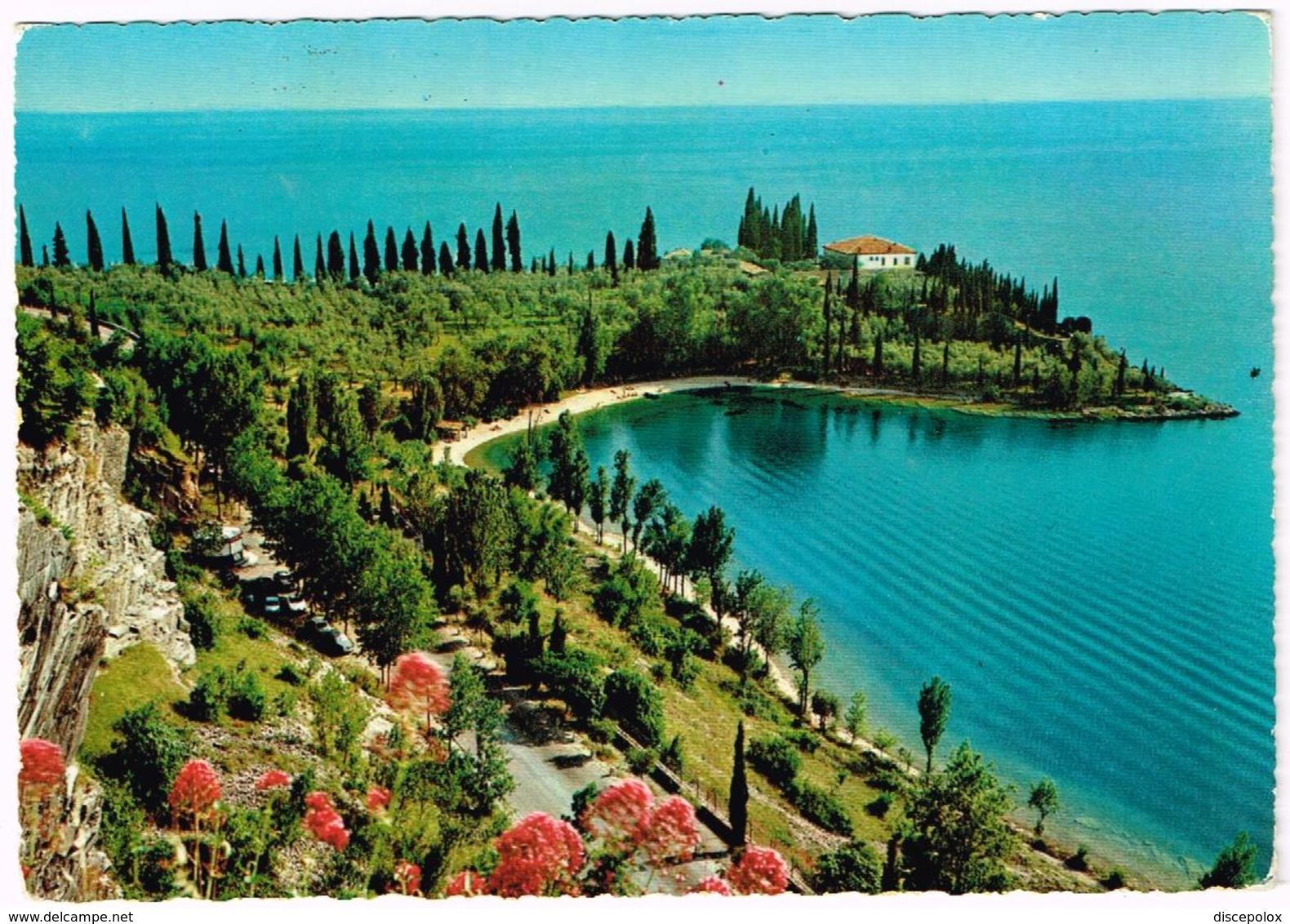 V3700 Lago Di Garda - Gardesana Orientale (Verona) - Baia Delle Sirene - Panorama / Viaggiata 1966 - Altre Città