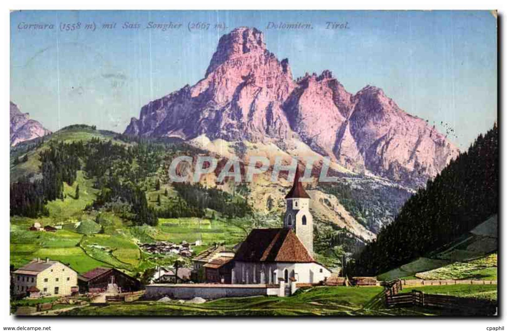 CPA Corvara - Italia