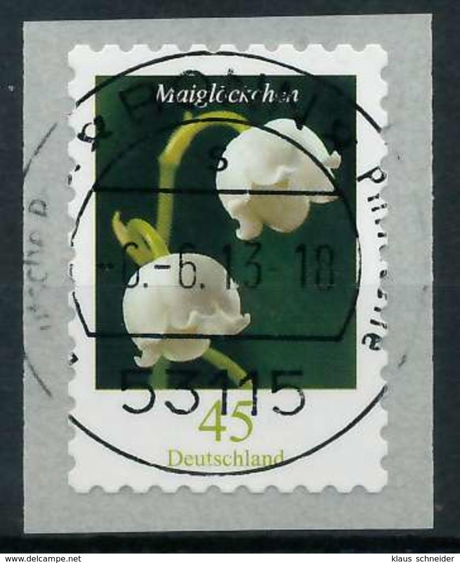 BRD DS BLUMEN Nr 2851 Zentrisch Gestempelt X84618E - [7] République Fédérale