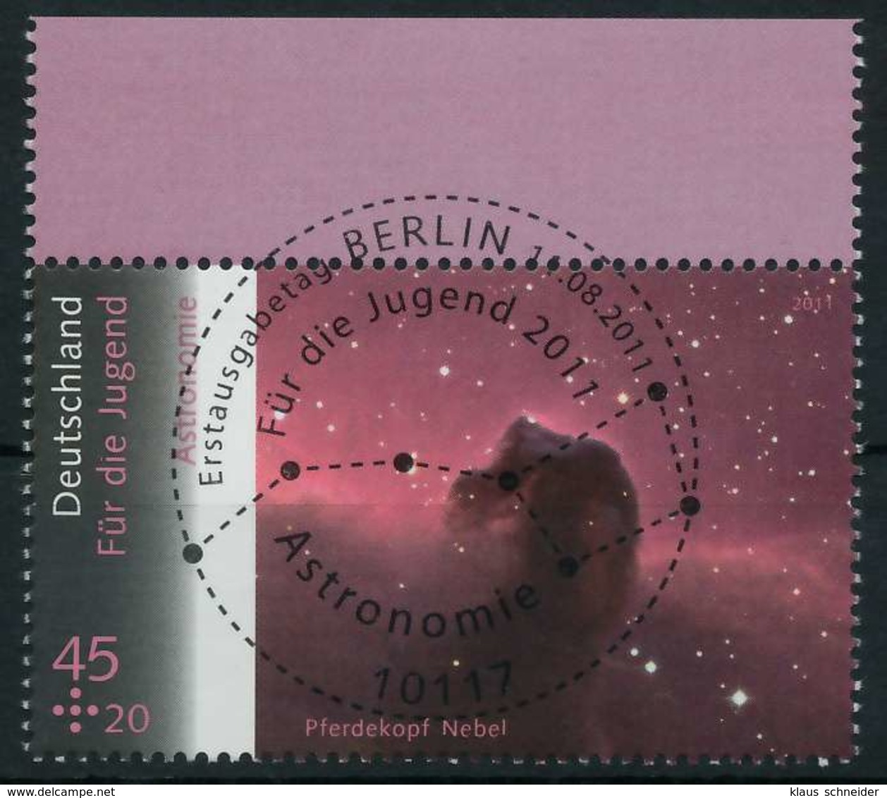 BRD 2011 Nr 2883 ESST Zentrisch Gestempelt X8461D6 - [7] République Fédérale