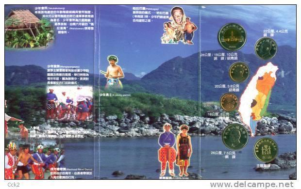 2000 Taiwan Aboriginal Culture Series/Uncirculated Coin Collection/ PUYUMA TRIBE - Taiwan