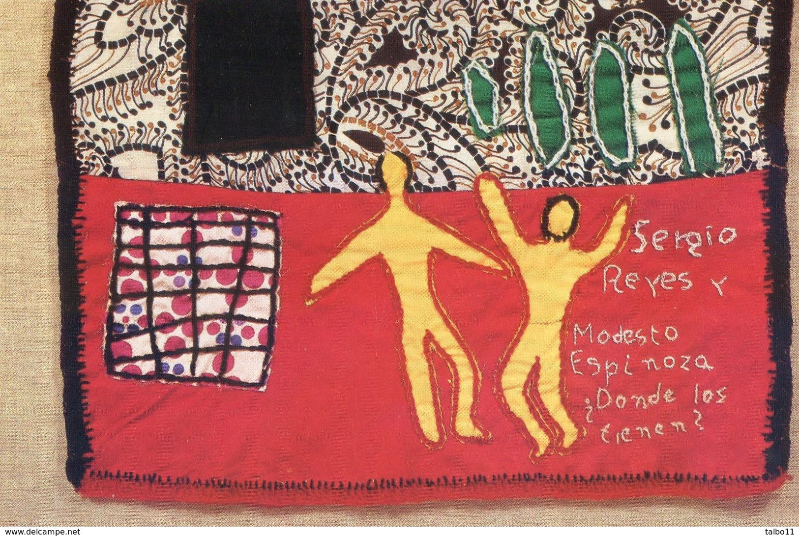 Chili Déchiré - 2000 Prisonniers Politiques - Tapis Brodés Par Les Familles De Prisonniers - Sergio Reyes - Eventos