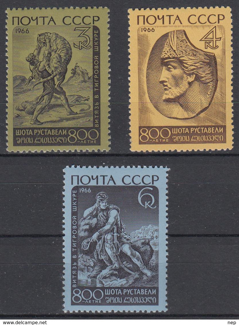 USSR - Michel - 1966 - Nr 3258/60 - MNH** - 1923-1991 USSR