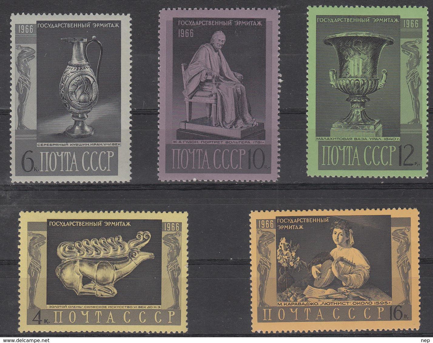USSR - Michel - 1966 - Nr 3313/17 - MNH** - Ongebruikt