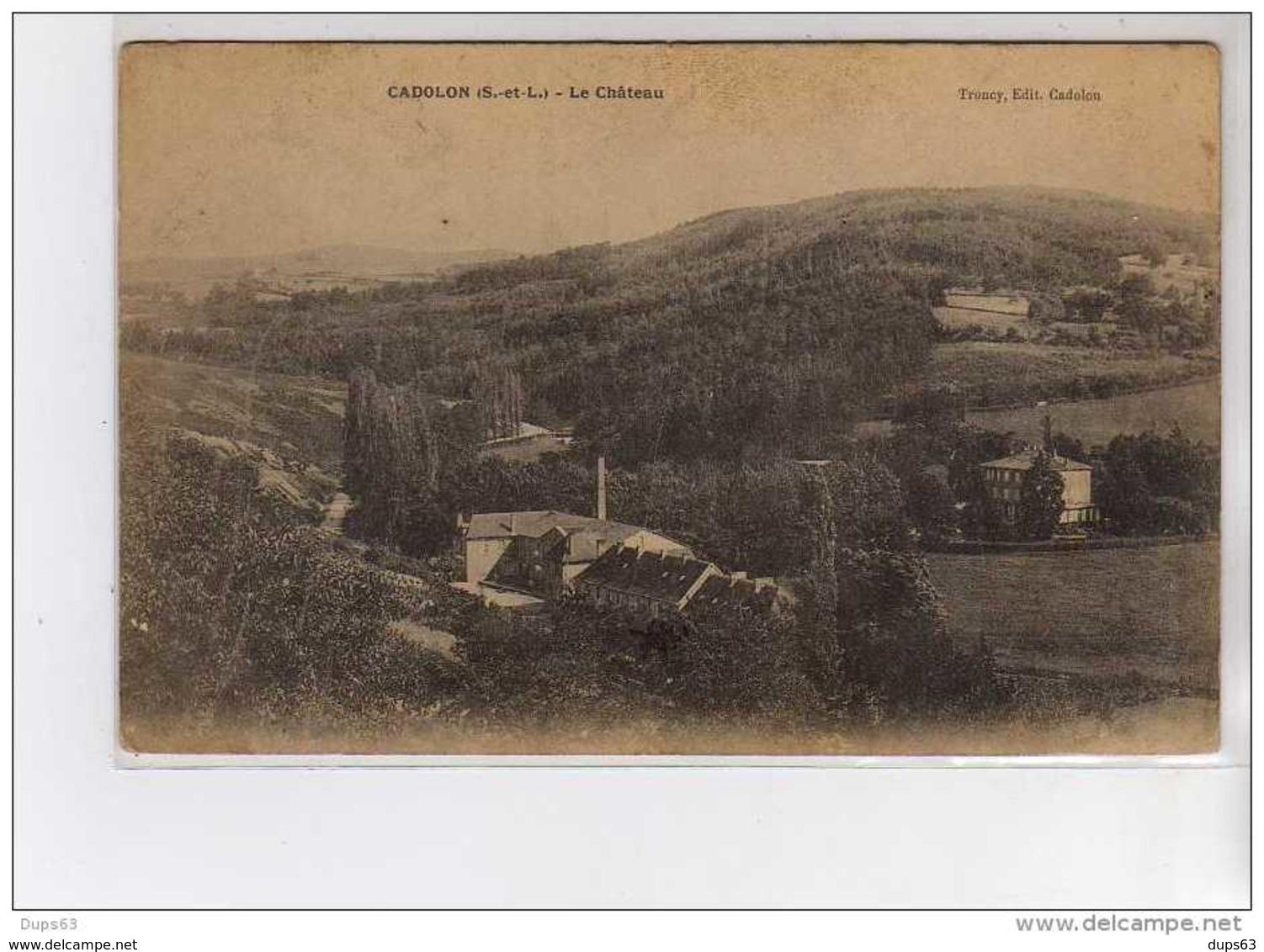 CADOLON - Le Château - Très Bon état - Autres Communes