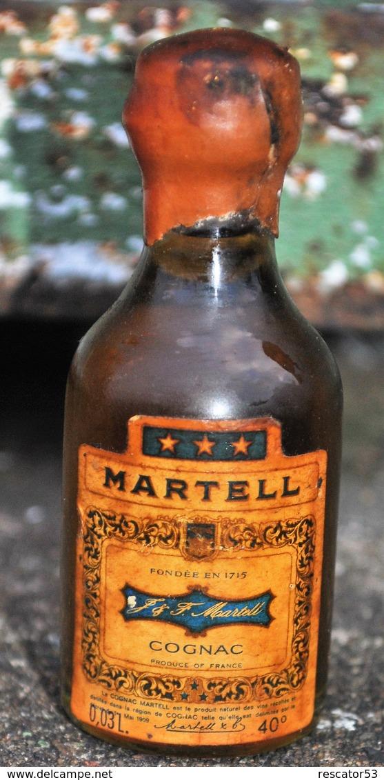 Rare Ancienne Mignonnettes Cognac Martell - Mignonnettes