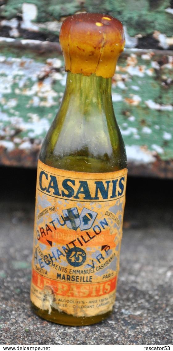Rare Ancienne Mignonnettes Pastis Casanis - Mignonnettes