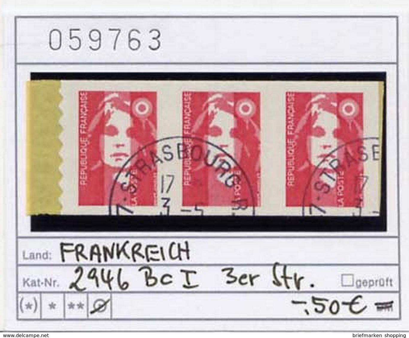 Frankreich - France - Francia - Michel 2946 Bc I (3er) - Oo Oblit. Used Gebruikt - Frankreich
