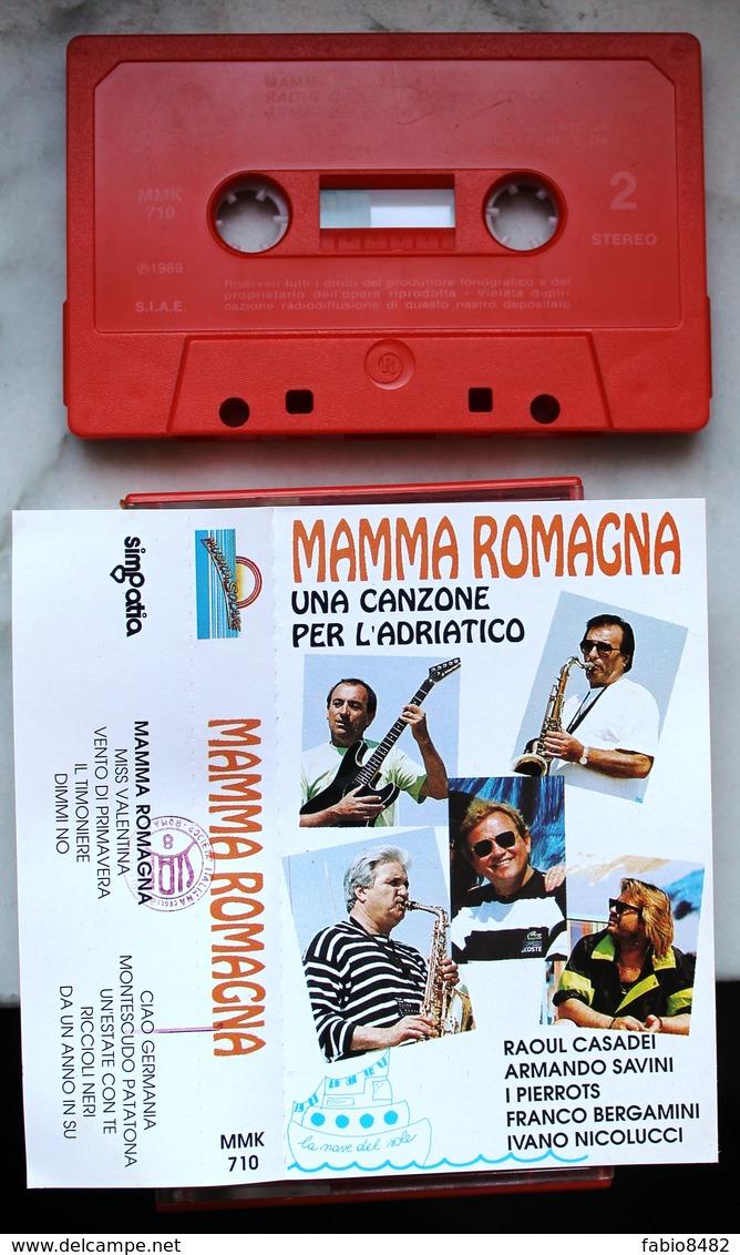MUSICASSETTA MC MAMMA ROMAGNA UNA CANZONE PER L'ADRIATICO MUSICA SOLARE MMK 710 - Cassettes Audio