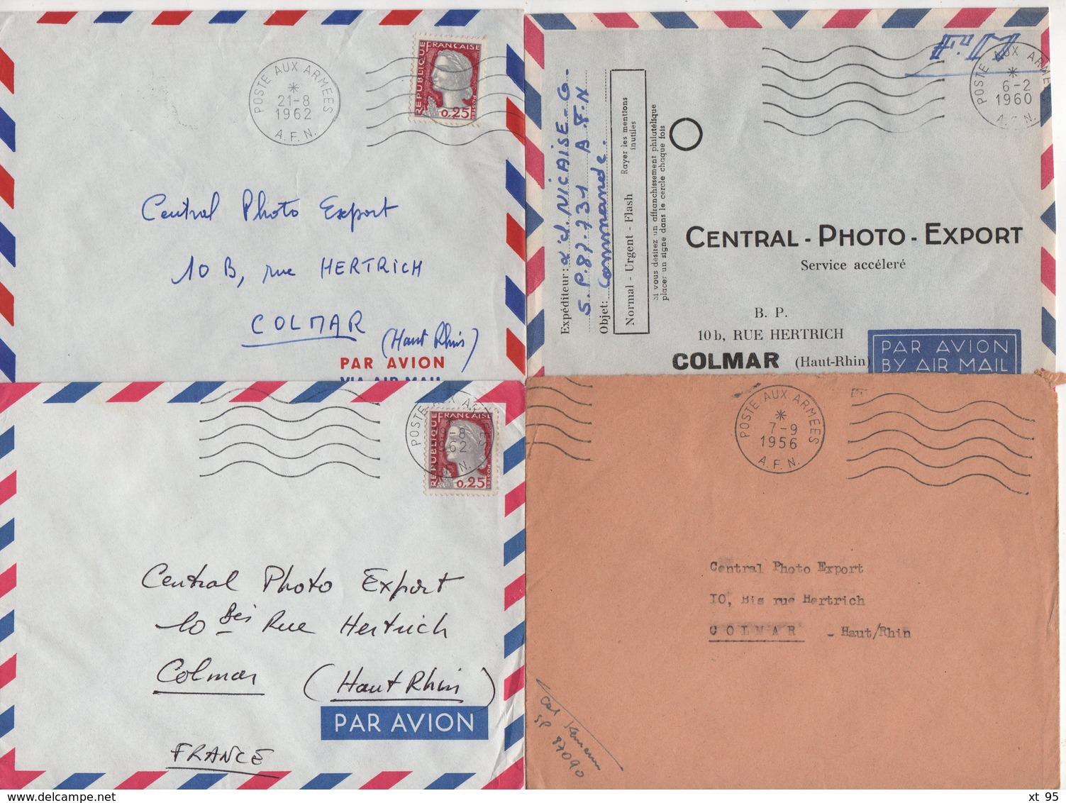 Guerre D'Algerie - Poste Aux Armees AFN - Lot De 20 Lettres - Voir Scan - Guerra D'Algeria