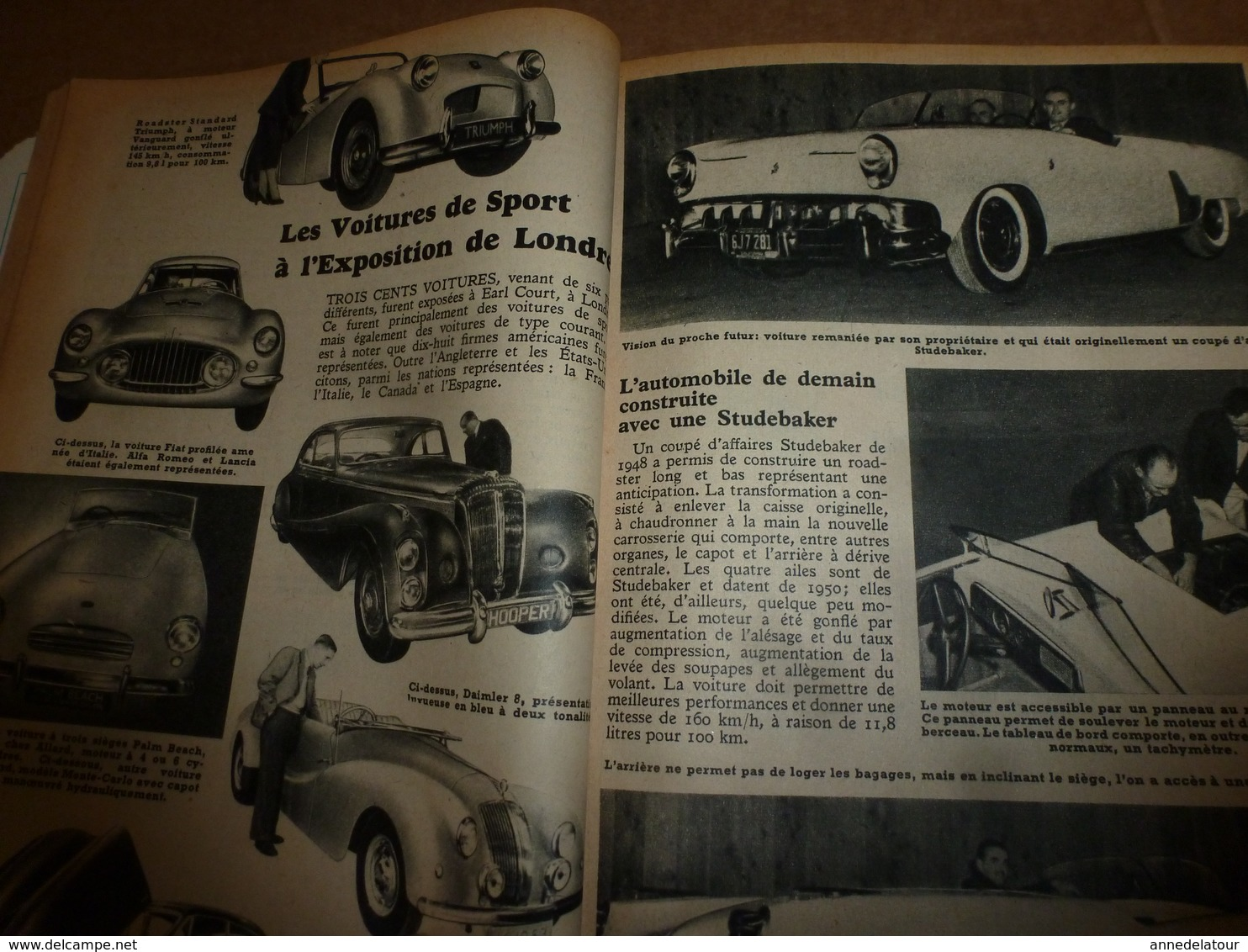 1953 MÉCANIQUE POPULAIRE: Chercheur D'or En Usine ; Prospecter L'uranium; Faire Une Table Tournante Pour Le Jardin; Etc - Technical
