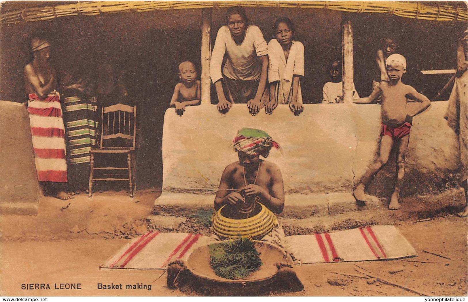 Sierra Leone - Ethnic / 05 - Basket Making - Sierra Leone